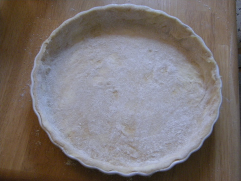 dough in