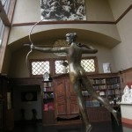 Diana in ASG studio Aspet-Saint Gaudens National Historic Site