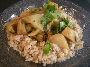 Nicole's Vegetable curry